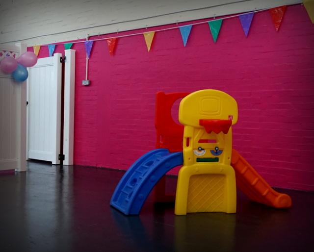 Playground Equipment within Daycare